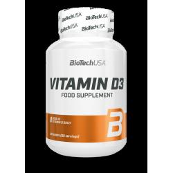 BioTech Vitamin D3 (60 Tbl)